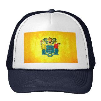 Nueva bandera de Jerseyan del contraste colorido Gorro De Camionero