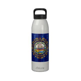 Nueva bandera de madera de Hampshirite Botella De Agua