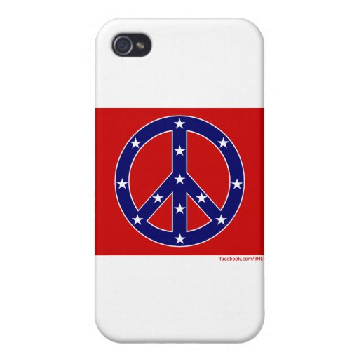 Nueva bandera meridional de la paz iPhone 4/4S carcasa