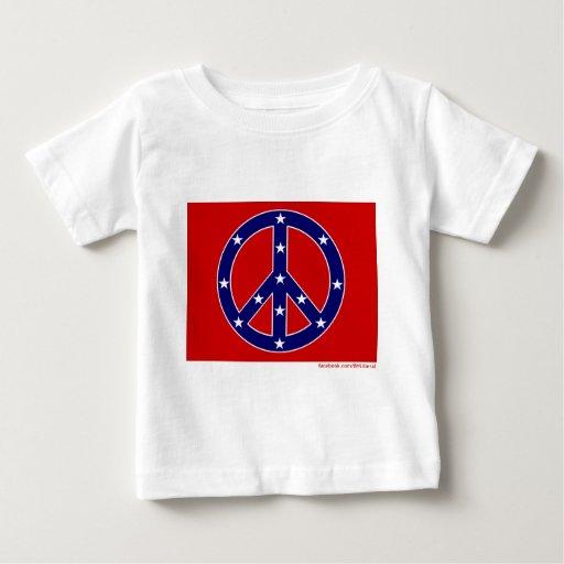 Nueva bandera meridional de la paz playeras