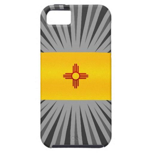 Nueva bandera mexicana pelada moderna iPhone 5 carcasas