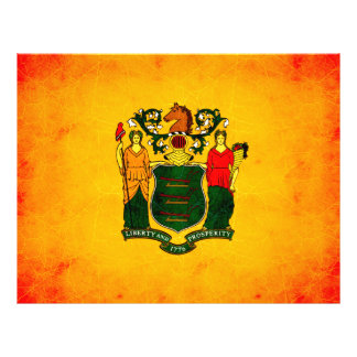 Nueva bandera nerviosa moderna de Jerseyan Flyer Personalizado
