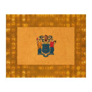 Nueva bandera oficial de Jerseyan Papel De Corcho Para Fotos