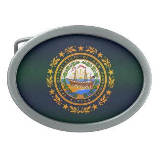 Nueva bandera pelada moderna de Hampshirite Hebilla De Cinturon