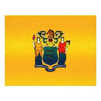 Nueva bandera pelada moderna de Jerseyan Flyer Personalizado
