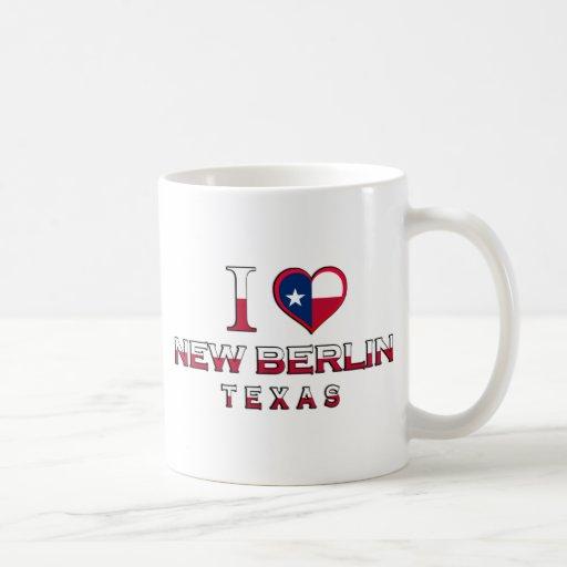 Nueva Berlín, Tejas Taza Básica Blanca