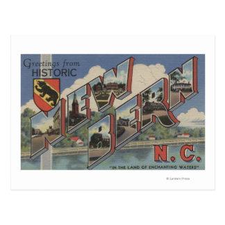 Nueva Berna, Carolina del Norte - escenas grandes Postales