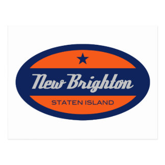Nueva Brighton Tarjeta Postal