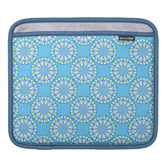 Nueva caja retra de la manga del iPad de la flor d Funda Para iPads