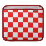 Nueva caja roja y blanca retra de la manga del iPa Fundas Para iPads