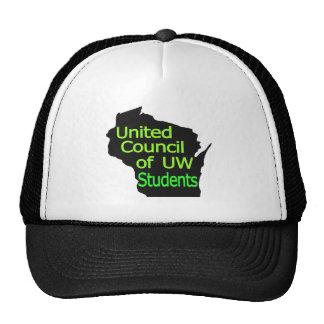 Nueva cal unida del logotipo del consejo en negro gorra