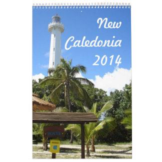 Nueva Caledonia 2014 (1p) Calendarios De Pared