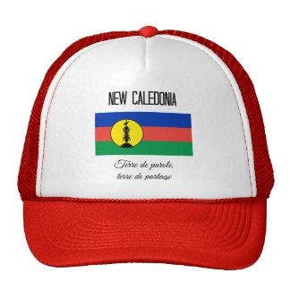 Nueva Caledonia, bandera y lema (francos) Gorro De Camionero