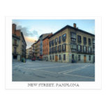 Nueva calle, Pamplona Postal