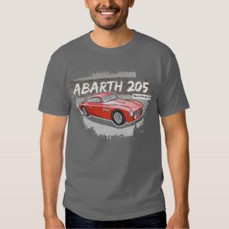 Nueva camiseta clásica del coche poleras