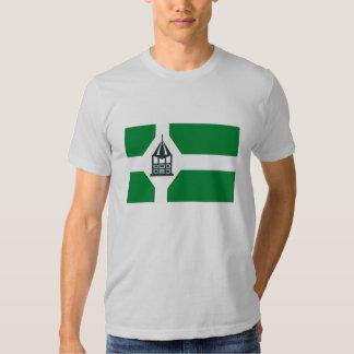Nueva camiseta de la bandera de Milford Remera
