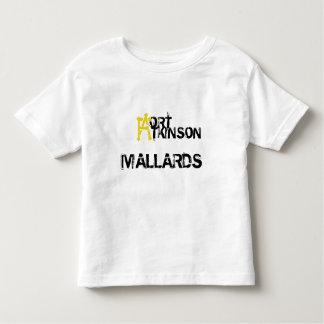 Nueva camiseta del niño de la edad de los patos remeras