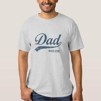Nueva camiseta del papá del vintage playeras