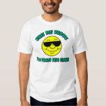 Nueva camiseta del papá polera