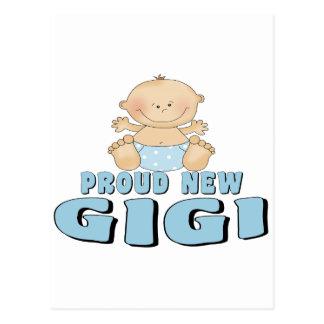 Nueva camiseta orgullosa de Gigi Tarjetas Postales