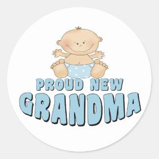 NUEVA camiseta ORGULLOSA de la abuela Pegatinas