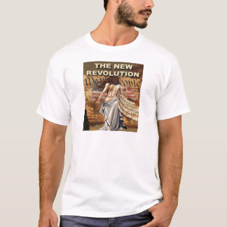 Nueva camiseta para hombre de la revolución