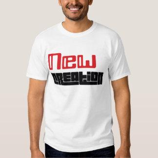 Nueva camiseta (roja y negra) de la creación playera