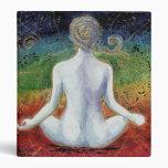 Nueva carpeta de la meditación de Chakra de la eda