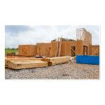Nueva construcción casera plantilla de tarjeta de visita