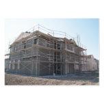 Nueva construcción casera tarjeta de negocio
