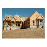 nueva construcción casera tarjetas de negocios