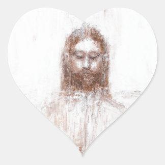 Nueva cubierta de Turín (realismo contemporáneo Pegatina En Forma De Corazón