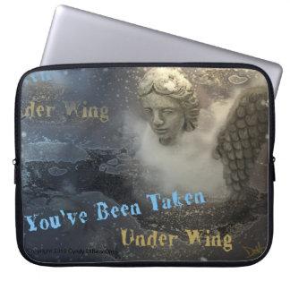 Nueva cubierta del ordenador portátil del ángel de fundas computadoras