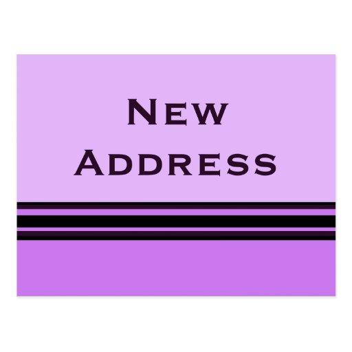 nueva dirección de las rayas postales