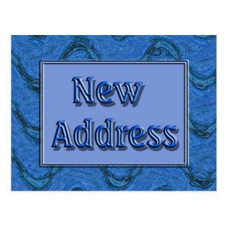 Nueva dirección tarjetas postales