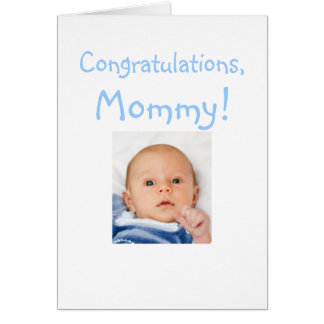 Nueva enhorabuena de la mamá del bebé felicitaciones