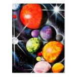 Nueva era espacial postales