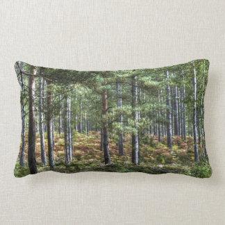 Nueva escena de la naturaleza de los árboles del cojin