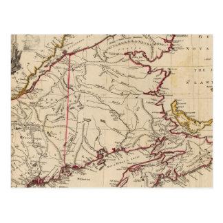 Nueva Escocia, cabo Gran Bretaña Postal