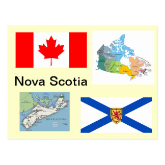 Nueva Escocia Canadá Tarjeta Postal