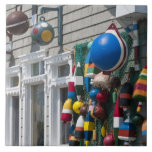 Nueva Escocia, Canadá. Tienda de la boya en rocas  Azulejos Ceramicos