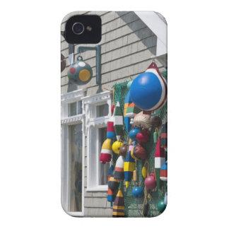 Nueva Escocia, Canadá. Tienda de la boya en rocas iPhone 4 Case-Mate Cárcasa