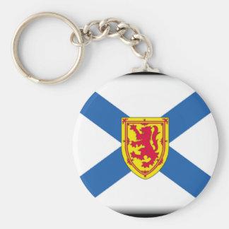 Nueva Escocia Llavero Personalizado