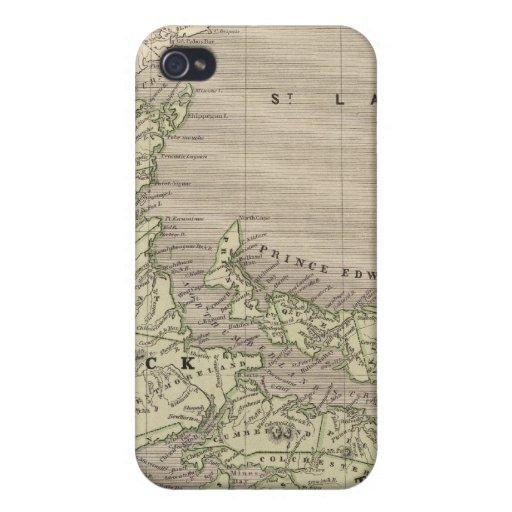 Nueva Escocia, Nuevo Brunswick iPhone 4 Protector