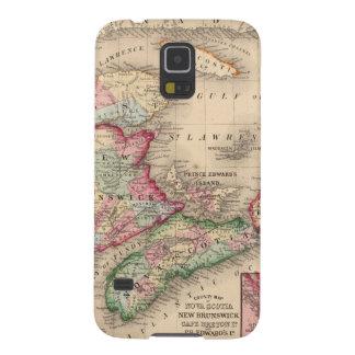 Nueva Escocia, Nuevo Brunswick, mapa de Mitchell Fundas Para Galaxy S5