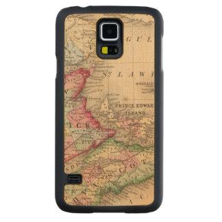 Nueva Escocia, Nuevo Brunswick, mapa de Mitchell Funda De Galaxy S5 Slim Arce