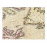 Nueva Escocia, Terranova Postal