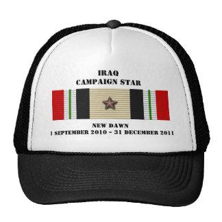 Nueva estrella de la campaña del amanecer gorra