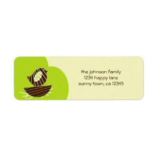 Nueva etiqueta del remite de la jerarquía etiquetas de remite