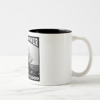 Nueva fiesta del té americana 2009 taza de café